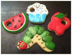 The Decorated Cookie Company A Very Hungry Caterpillar Themed Lunch Made By Corso U0027s Cookies