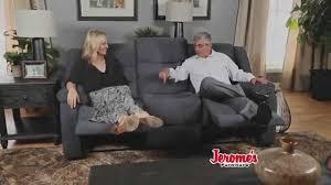 Triple Recliner Sofa by Jerome U0027s Furniture 399 Double Reclining Sofa Youtube