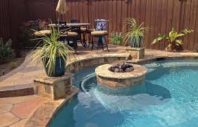 Fire Pit With Water Feature - pool fire pit 33 best pool designs images on pinterest