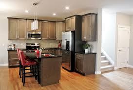 cuisine avec frigo americain cuisine cuisine frigo americain avec cyan couleur cuisine frigo