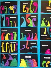 pastel koru design representing family members ideas