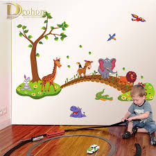 Jungle Wallpaper Kids Room by Online Buy Wholesale Jungle Room Decor From China Jungle Room