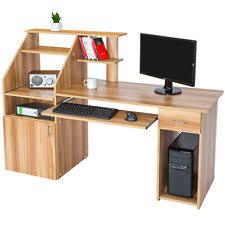 bureau informatique en bois bureaux et tables d ordinateur meuble informatique en mdf