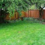 Backyard Fencing Cost - backyard fence designs and styles