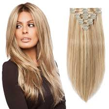 remy hair extensions 8 pcs weft clip in remy hair extensions 12 613
