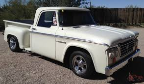 homemade pickup truck dodge d 100 short bed stepside pickup truck