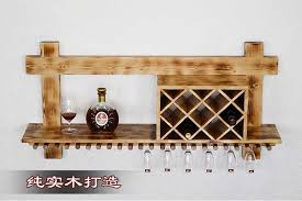 wine wall rack european creative fashion hanging bar wine bar