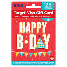 day gift visa happy b day gift card 25 4 fee target