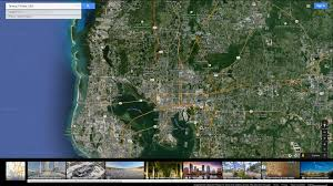 Clearwater Florida Map by Tampa Florida Map