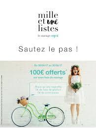 1001 listes mariage listes de cadeaux mille et une listes galeries lafayette annecy