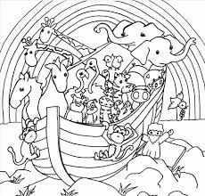 noah ark coloring newcoloring123