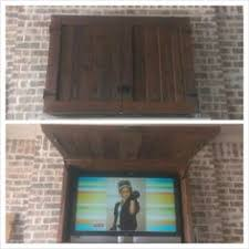 Outdoor Bar Cabinet Doors Downright Simple Outdoor Tv Cabinet For 50