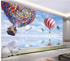 new large wallpaper air balloon mural wallpaper mural wall