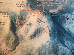 Mount Washington Map by This Map Has A Red Dot For Every Death On Mt Washington In New