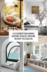 15 coziest reading nooks you u0027ll never want to leave shelterness