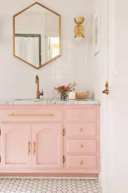 bathroom gold and pink bathroom pink mold bathroom retro