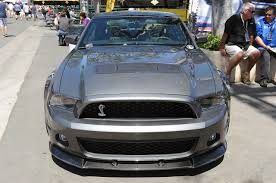 shelby mustang 1000 hp 05 2012 shelby 1000 sterling gray mustangs daily