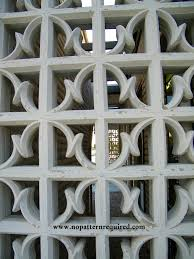 Decorative Concrete Screen Block and Sorry Y all………………