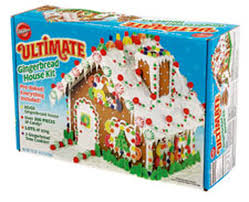 pre baked ultimate gingerbread house kit wilton
