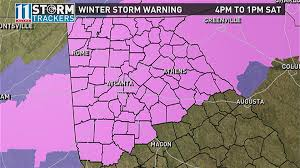 Weather Map Atlanta by Atlanta Officials Updating Winter Storm 2017 Preparations