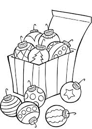 Ornaments For Christmas Tree Coloring Page Christmas Coloring Tree Coloring Pages Ornaments
