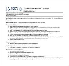 Tax Preparer Job Description For Resume by Accounting Job Description Download Accounting Resume Beautifully