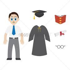 graduation accessories with graduation accessories vector image 1399949