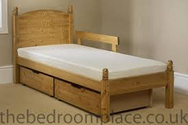 the teddy bear wooden childs bed fully assembled bedroom
