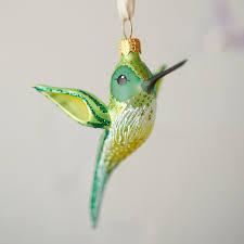 hummingbird glass ornament hummingbirds hummingbird and the tree