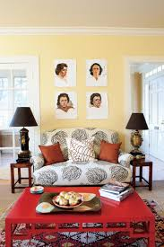 yellow walls living room yellow decorating ideas southern living