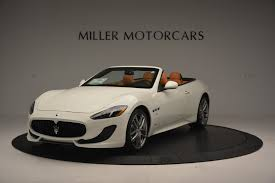 car maserati price 2017 maserati granturismo convertible sport stock m1640 for sale
