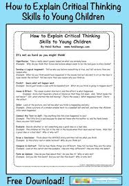 Quick  amp  Fun Creative and Critical Thinking Activities   Minds