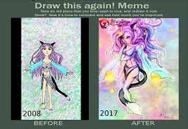 Meme Neko - draw this again meme neko sorceress by nekoanima on deviantart