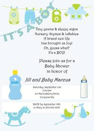 baby shower invitation wording for a boy wblqual