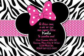 Minnie Invitation Card Minnie Mouse Baby Shower Invitations Minnie Mouse Baby Birthday