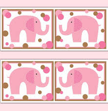 Pink Elephant Nursery Decor 253 Best Elephant Nursery Decor Images On Pinterest