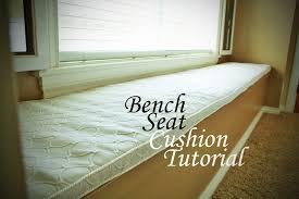 Diy Bench Seat Diy Bench Seat Cushion Tutorial