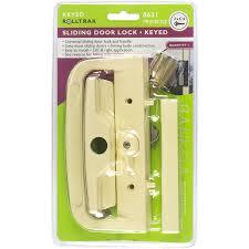 Patio Door Handle With Lock Inspiration Of Sliding Door Locks With Key With Patio Door Lock