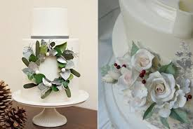 wedding cake flower winter sugar flowers tutorials cake magazine