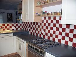 carrelage pour cr ence de cuisine faience en verre pour cuisine maison design bahbe com