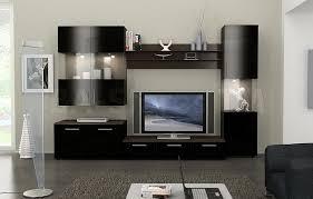 interior design cozy laminate tile flooring with black armchair