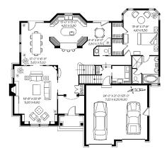 plan lodgemont cottage floor great house plans black white