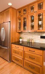 Mission Style Cabinets Kitchen Kitchen Like The Colors Of The Cabinets Counter And Backsplash