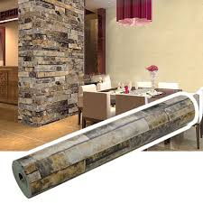Home Design Unlimited Coins by Homdox Brick Wallpaper Textured Removable And Waterproof For Home