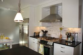 kitchen appliances all on one wall one wall kitchen designs ideas