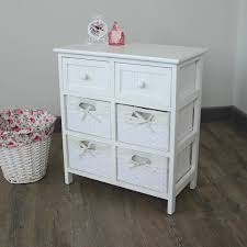 medicine cabinet with wicker baskets endearing pine chest drawers bedside table bathroom storage unit