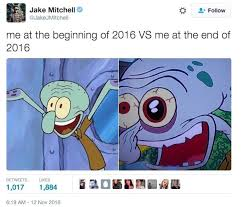 Meme Me - me at the beginning of 2016 vs me at the end meme