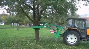 amb rousset vhb hydraulic tree shaker