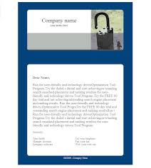 professional email template modern business 4 html email template