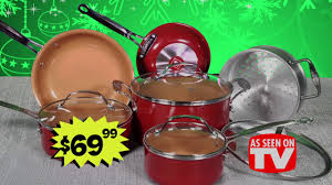 cookware black friday ollie u0027s 2016 black friday deals red copper cook set youtube